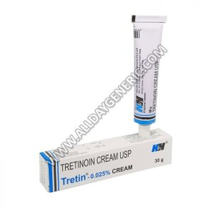 tretinoin,tretinoin cream, Tretin 0.025% Cream