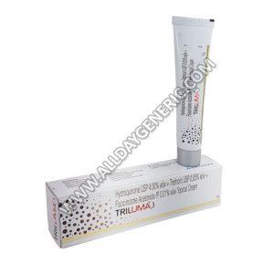 Triluma Cream (Fluocinolone / Hydroquinone / Tretinoin)