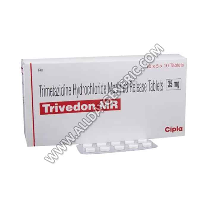 Trimetazidine 35 mg (Trivedon 35 mg)