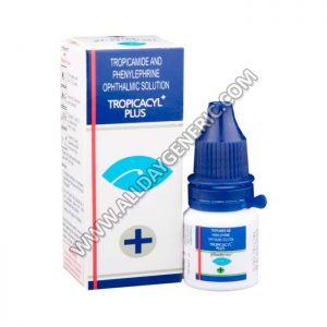 Tropicacyl Plus Eye Drop, phenylephrine and tropicamide, phenylephrine eye drops
