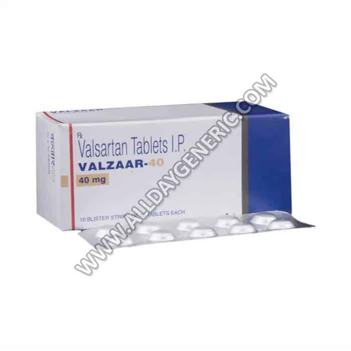Valzaar 40 (Valsartan 40 mg)