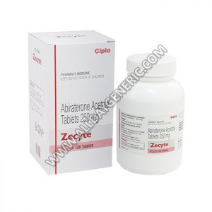 Zecyte 250 mg Tablet (Abiraterone)