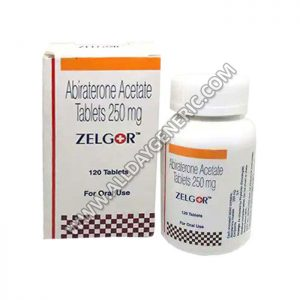 Zelgor 250 mg Tablet(Abiraterone)