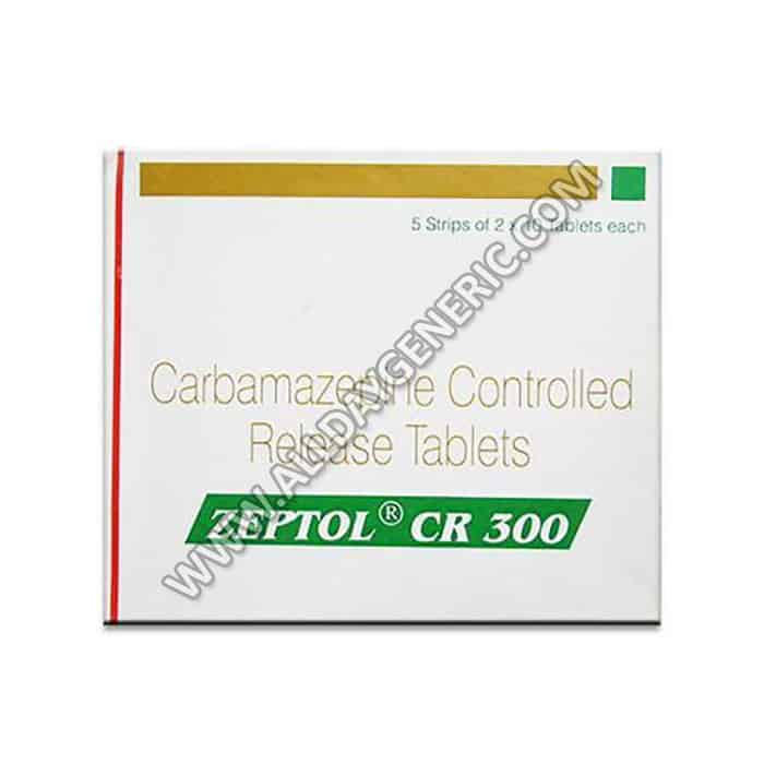 Zeptol CR 300 mg Tablet(Carbamazepine)