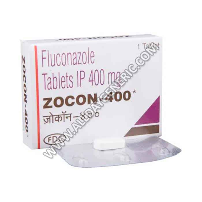 Zocon 400 mg Tablet(Fluconazole)