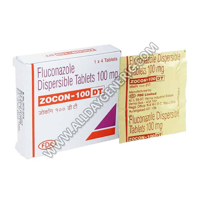 Zocon 100 dt (Fluconazole Tablets)