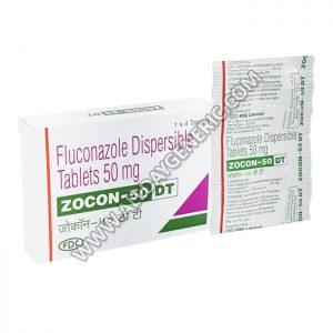 Zocon 50 DT (Fluconazole Tablets)