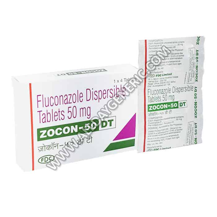 Zocon 50 DT (Fluconazole Tablets)