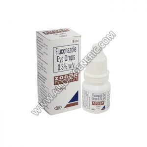 Zocon eye drops (Fluconazole)
