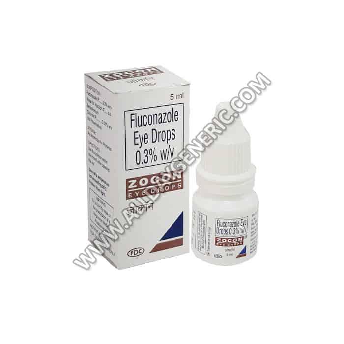 Zocon eye drops (Fluconazole)
