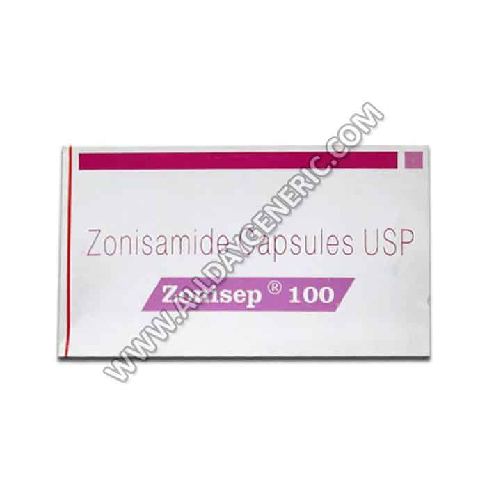 Zonisep 100mg Capsule(Zonisamide)