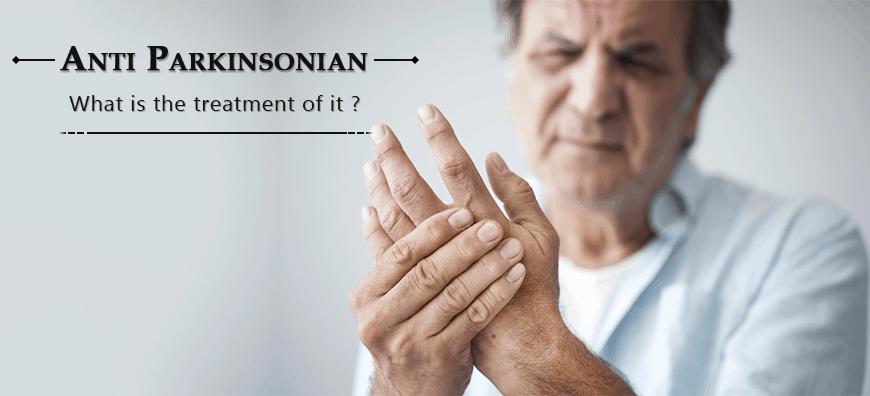 parkinsonian gait, Anti Parkinsonian