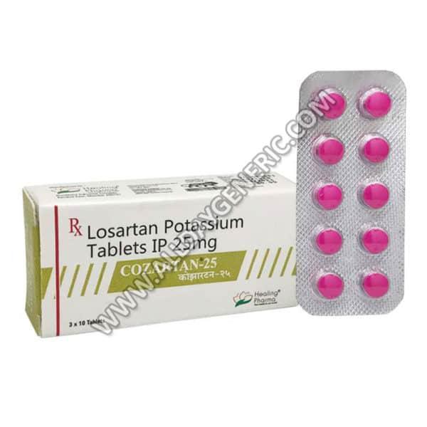 Cozartan 25 mg Tablet