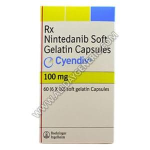 cyendiv 100mg | Cyendiv 100 mg Capsule (Nintedanib)