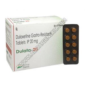 Dulata 20, Duloxetine 20 mg