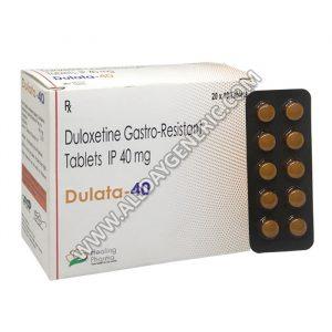 Dulata 40, Duloxetine 40 mg