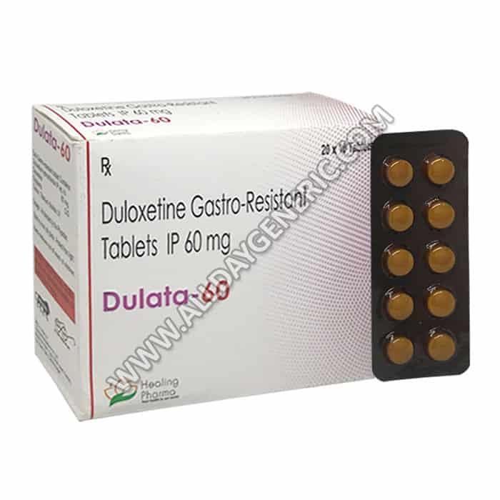 Dulata 60, Duloxetine 60 mg