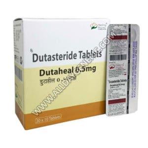 Dutaheal 0.5 mg (Dutasteride)