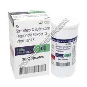 Hiflo | Hiflo 100 Rotacap (Salmeterol / Fluticasone Propionate)