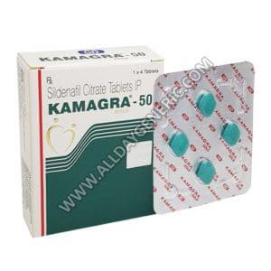 Kamagra 50mg, Sildenafil 50