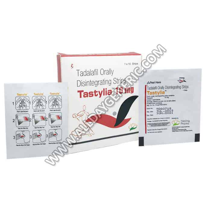Tastylia 10 mg (Tadalafil Oral Strips)