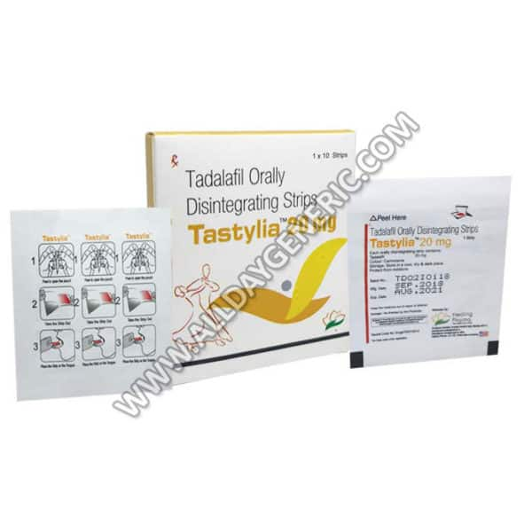 Tastylia 20 mg (Oral Disintegrating Strips)