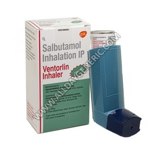Ventorlin Inhaler, Salbutamol 100mcg
