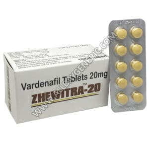 Vardenafil 20mg - Zhewitra 20