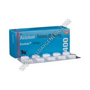 Acyclovir 400 mg (Zovirax Tablet)