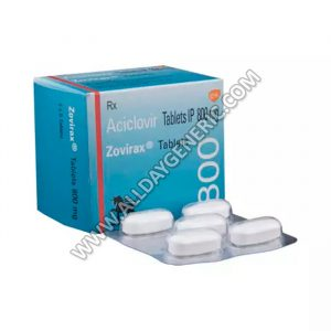 Zovirax Pills, Acyclovir 800 mg