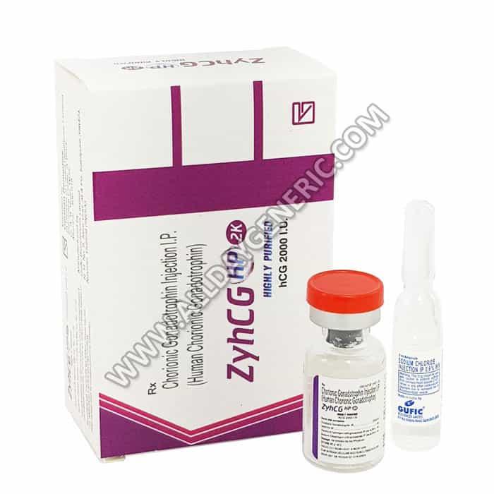 ZyhCG | ZyhCG 2000 IU Injection (Human Chorionic Gonadotropin)