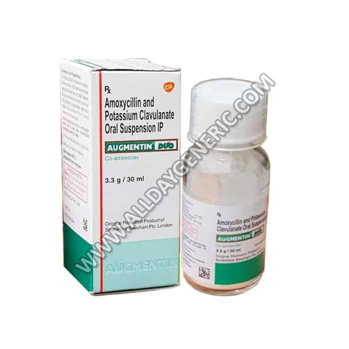 Augmentin DDS Syrup(Amoxicillin / Clavulanic Acid)