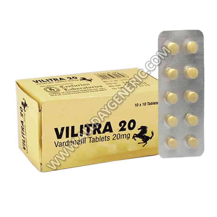 vilitra 20, vardenafil 20 mg