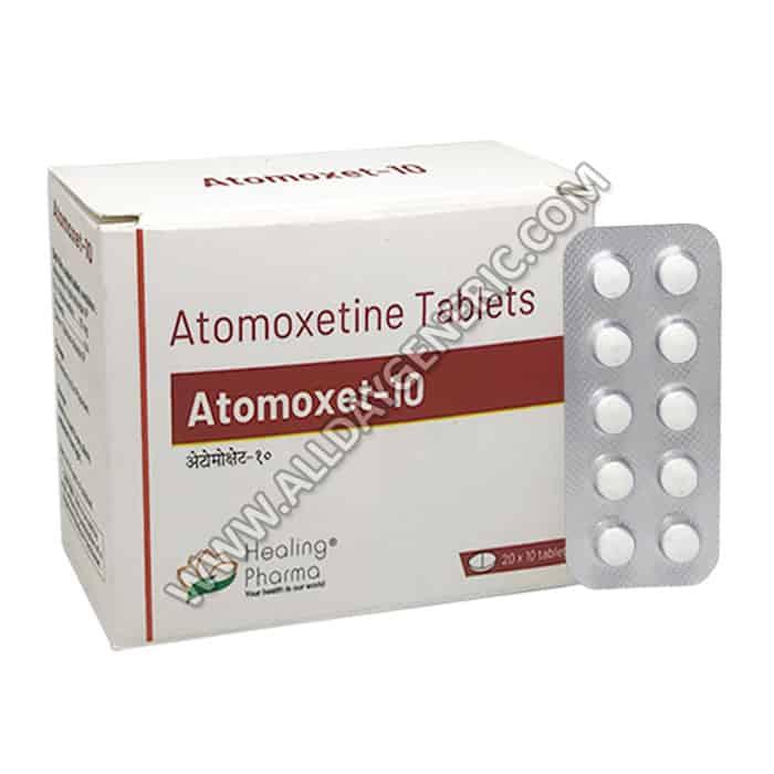 Atomoxet 10, Atomoxetine 10mg