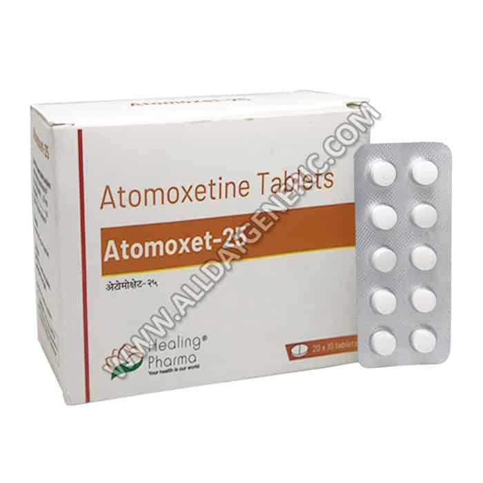 Atomoxet 25. Atomoxetine 25 mg