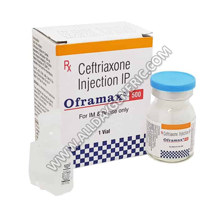 Oframax Injection, Ceftriaxone Injection