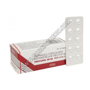 Provanol 80 SR, Propranolol