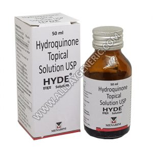 Hyde Solution, Hydroquinone
