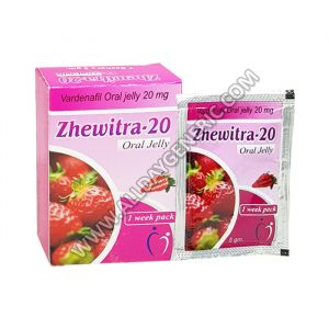 Levitra Oral Jelly, Vardenafil - Zhewitra Jelly Online for Sale